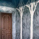 Декоративные деревья-барельефы